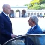 قيس سعيد لمحمد الناصر: استقبلتك كرئيس دولة سابق وسأعمل مع الصادقين مثلك