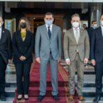 ليبيا: وزراء خارجية فرنسا وألمانيا وإيطاليا يبحثون مع الدبيبة عودة نشاط الشركات الأوروبية