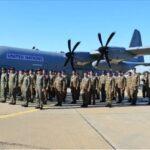 وفد عسكري رفيع المستوى يتفقّد الوحدة العسكرية للنقل الجوّي بمالي