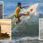 ضربها البرق أثناء التدريب: مصرع راكبة أمواج عن عمر 22 عاما