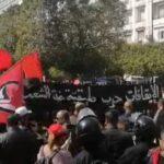 بمشاركة 10 أحزاب: مُحتجون يُطالبون بإطلاق سراح الموقوفين في الاحتجاجات الاخيرة