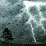 طقس اليوم: أمطار رعدية ودرجات حرارة منخفضة