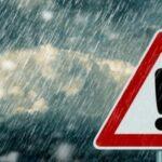 طقس اليوم: أمطار رعدية وبرد وانخفاض في درجات الحرارة