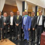 """صورة للذكرى مع الرئيس الجديد للكاف: """"الجالية التونسية"""" تدعم الجريء في المغرب"""