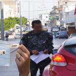 الداخلية: 16749 خطية لعدم حمّل الكمامة في 4 أيام