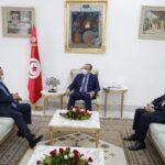 المشيشي يلتقي سفير قطر