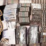 الجبابلي: حجز 5388 قرص دواء ومبالغ مالية بسيارة جزائريين