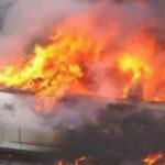 الجبابلي : ايقاف 3 أشخاص أحدهم تكفيري بتهمة حرق سيارتين تابعتين للحرس الوطني في طبلبة