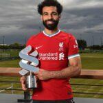 الفرعون أفضل لاعب في موسم ليفربول