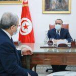 المشيشي يقدم للجرندي كشفا عن مخرجات زياراته الى ليبيا وقطر وجنيف