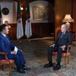 تبون: هدّدنا بالتدخّل في ليبيا لمنع سقوط طرابلس ولا مشكلة للجزائر مع المغرب