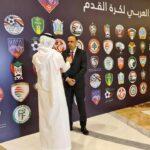 انتخاب وديع الجريء بالمكتب التنفيذي للإتحاد العربي لكرة القدم
