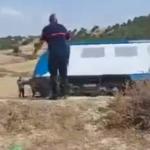 """الـ""""SNCFT"""": جنوح عربة قطار بين السرس وسيدي بورويس"""