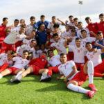 منتخب الأصاغر في المجموعة الثالثة لكأس العرب