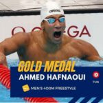 أحمد الحفناوي يهدي تونس والعرب أول ميدالية ذهبية في الأولمبياد