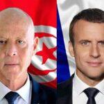 في مكالمة هاتفية: ماكرون يؤكد لسعيّد وقوف فرنسا الى جانب تونس