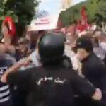 تدافع بين قوّات الأمن ومُحتجّين بالعاصمة /فيديو